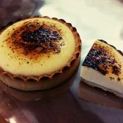 濃厚チーズタルト2