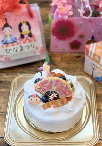 お雛様ケーキ2